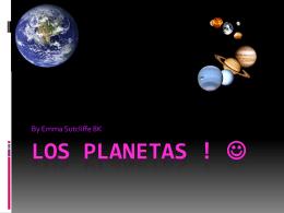 Los Planetas ! *