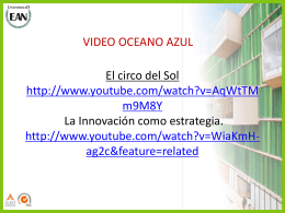 Tema 7 - Oceano Azul