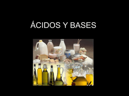 ÁCIDOS Y BASES - SCIENCE