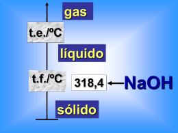 Hidróxidos metálicos solubles en agua. Las disoluciones básicas