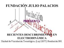máquinas eléctricas unipolares física del dinamotor jorge