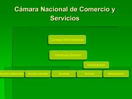 Departamento de Gremiales - Cámara Nacional de Comercio y