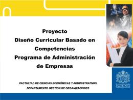 6 Reforma curricular..