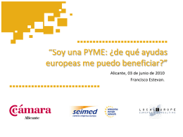 Financiación del BEI para PYME