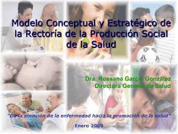 Presentación del Modelo Conceptual y estratégico