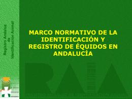 marco normativo - Colegio Veterinarios Cádiz