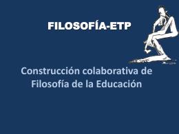 CLASE 6. CORRIENTES FILOSOFICAS