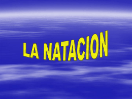 La Natación en Power Point