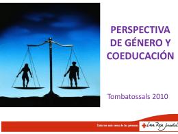 PERSPECTIVA DE GÉNERO Y COEDUCACIÓN