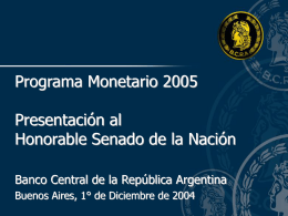 Objetivo - Honorable Senado de la Nación