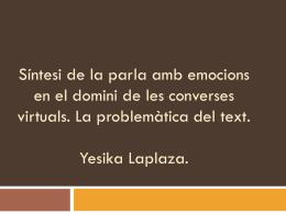 Síntesi de la parla amb emocions en el domini de les converses