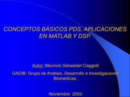 DSP y aplicaciones