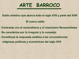 ARTE BARROCO - Colegio Adventista La Serena