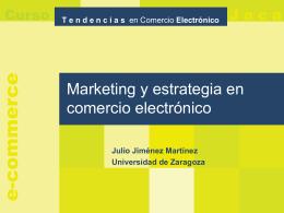 Marketing - Universidad de Zaragoza
