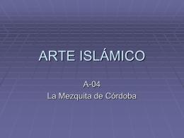 ARTE ISLÁMICO - Gobierno de Canarias