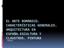 El arte románico - Biblioteca Escolar Digital