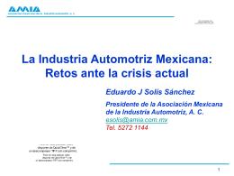 Asociación Mexicana de la Industria Automotriz, A.C.