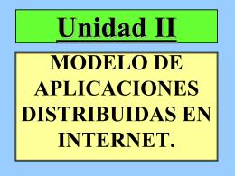 MODELO DE TRES CAPAS DE INTERNET