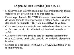 Lógica de Tres Estados (TRI-STATE)