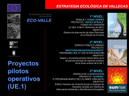 Estrategia ecológica en tres niveles