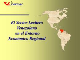 el sector lácteo venezolano en el contexto internacional