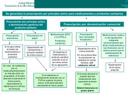 Se generaliza la prescripción por principio activo para