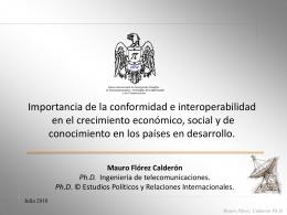 Mauro Flórez Calderón Ph.D.