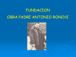 presentacion en power point 1 - Fundación Obra Padre Antonio
