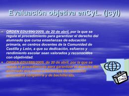 TEMA 2 LA EVALUACIÓN CURRICULAR: HISTORIA DE