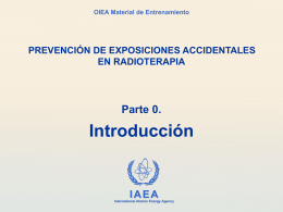 0.1 Introducción - International Atomic Energy Agency