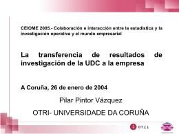 Diapositiva 1 - Universidade da Coruña