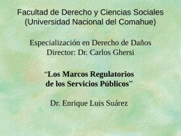4-los-marcos-regulatorios - Universidad Nacional del Comahue