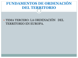 Tema 3. Competencias de la Union Europea