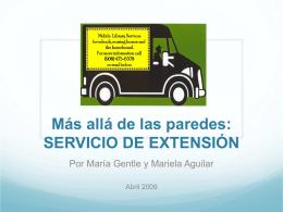 SERVICIO DE EXTENSIÓN