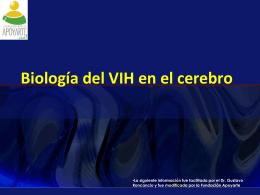 Biología del VIH en el cerebro