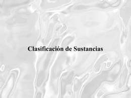 Características - dependencia quimica