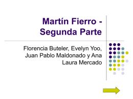 Martín Fierro - Segunda Parte