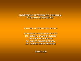 Diapositiva 1 - Universidad Autónoma de Chihuahua