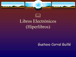 Que son los libros electronicos