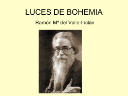 Present Luces de Bohemia 15