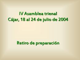 Retiro - Colegio Patrocinio de María