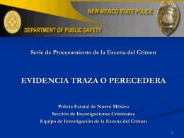 EVIDENCIA TRAZA POLICIA ESTATAL DE