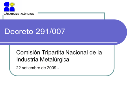 Diapositiva 1 - Camara Metalurgica
