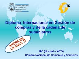 Presentacion ITC - Cámara Nacional de Comercio y Servicios