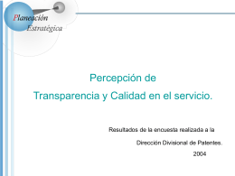 Diapositiva 1 - Coordinación de Planeación Estratégica