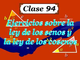 Clase 94: Ejercitación de Leyes