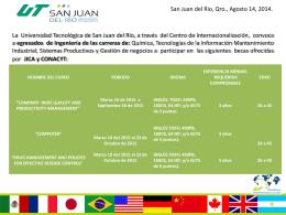 Diapositiva 1 - Universidad Tecnológica de San Juan del Río