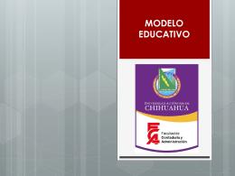 Modelo educativo - Universidad Autónoma de Chihuahua
