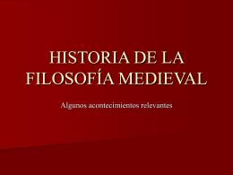HISTORIA DE LA TEORÍA POLÍTICA MEDIEVAL