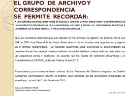 comunicado archivo 2011